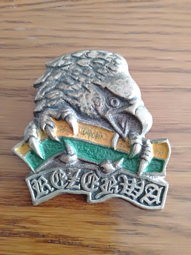 Odznaka Blacha Rezerwa Orzeł Duża