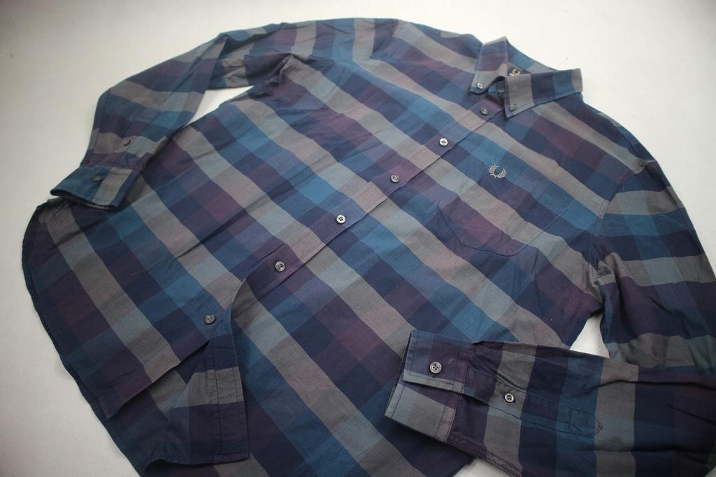 Fred Perry koszula męska kratka XL