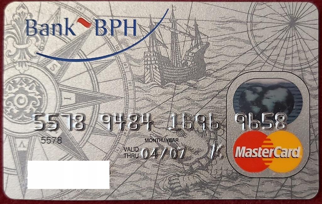 Karta MasterCard Credit Silver Bank BPH