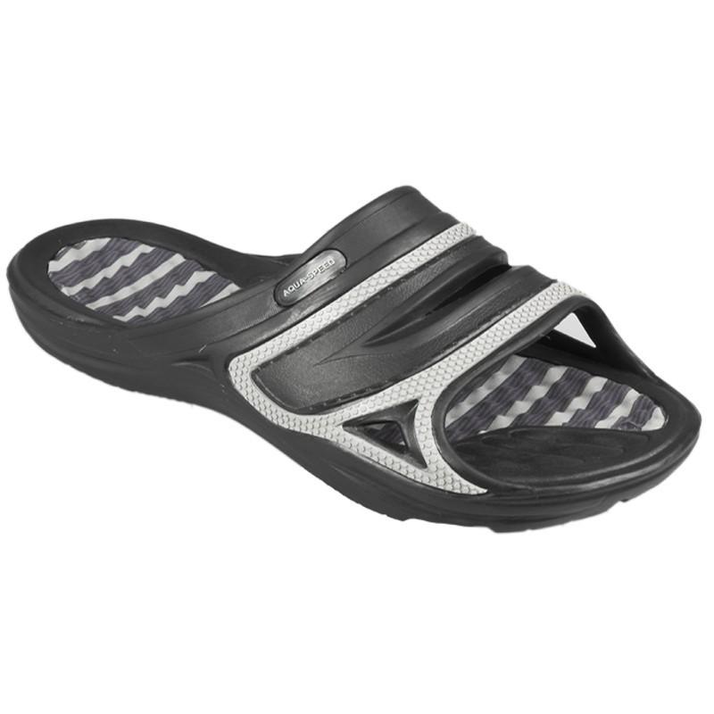 Klapki basenowe AQUA-SPEED TAHITI r. 45 czarne 07