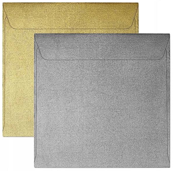 Koperta 145x145 pearl złota P 120g (280715)