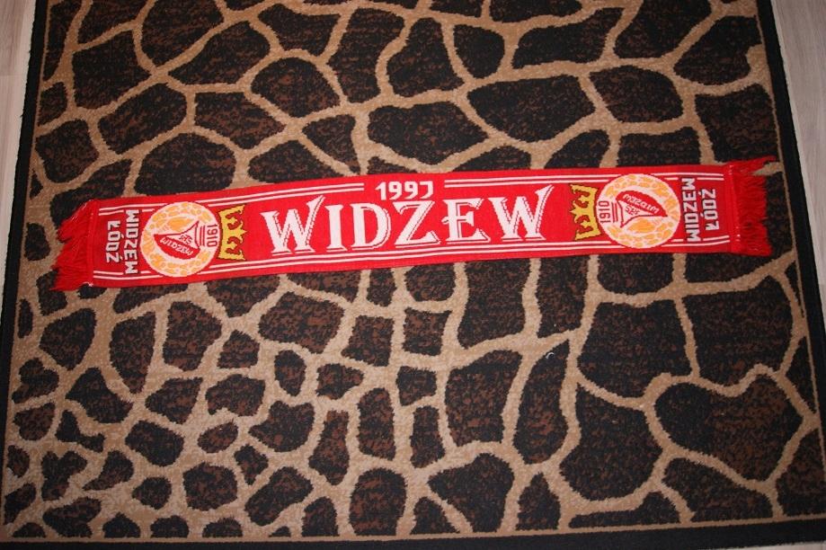 Szalik szal RTS Widzew Łódź z firmy O.K. - Ruch
