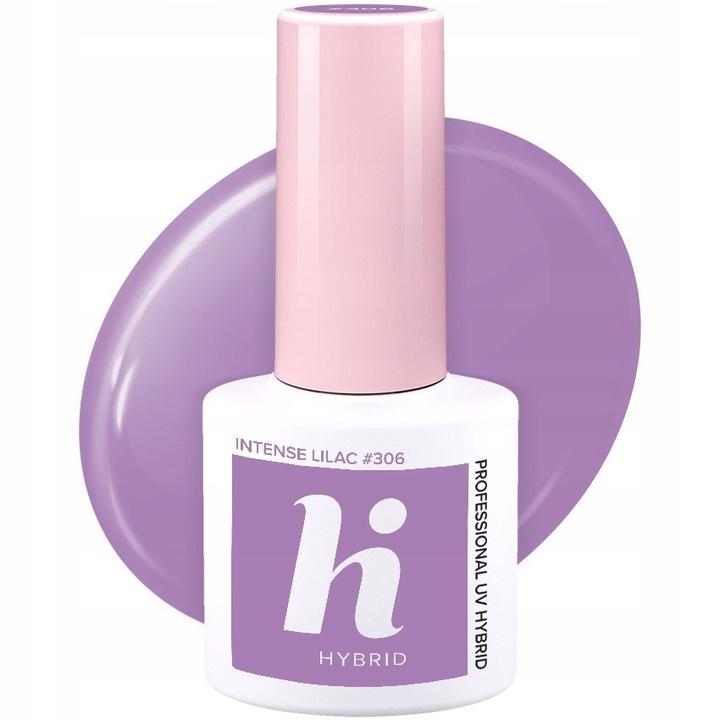 Hi Hybrid 306 Intense Lilac 5ml lakier hybrydowy