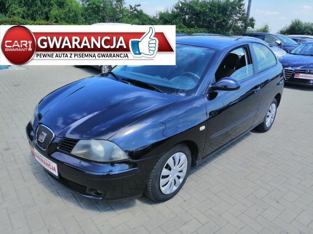 Seat Ibiza 1.4 benz. 75KM Gwarancja Zarejestrowana