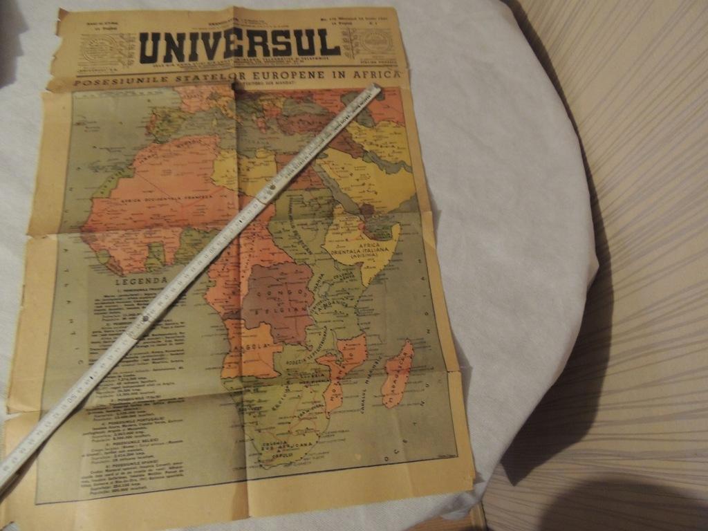 MAPA 1949 ROK - UNIVERSUL