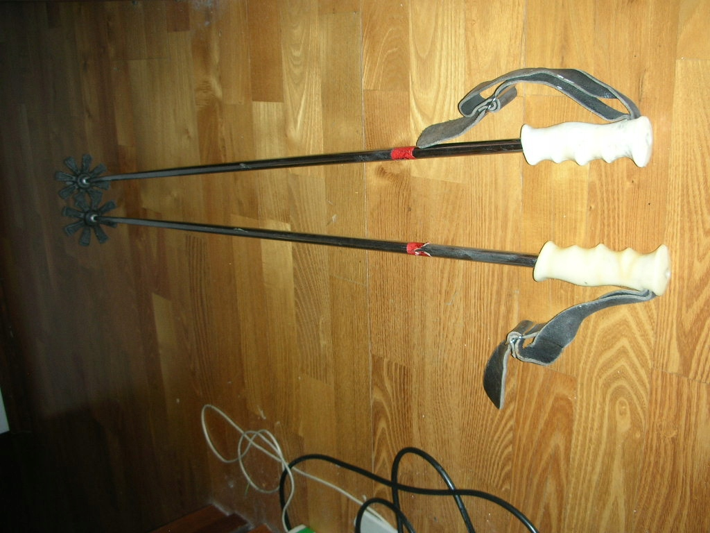 Kijki narciarskie stalowe Polsport 110cm