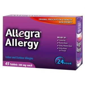 ALLEGRA, 10 tabletek