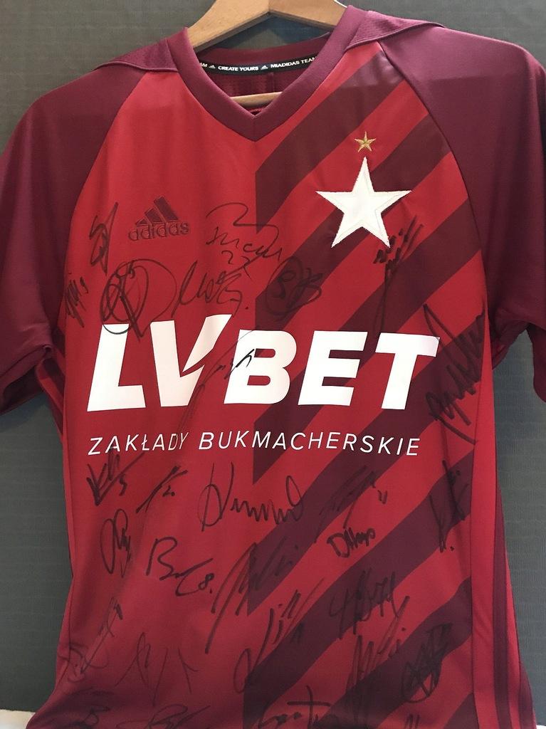 Koszulka Z Podpisami Pilkarzy Wisly Krakow 8812366478 Oficjalne Archiwum Allegro