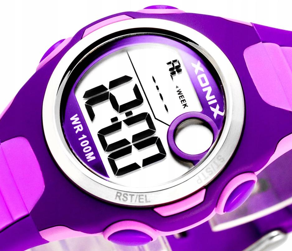 Elektroniczny Dziecięcy Zegarek XONIX Wodoszczelny