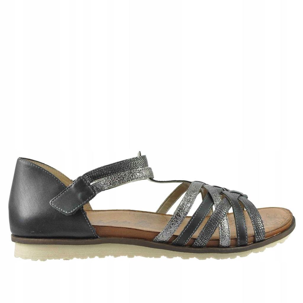 Duże sandały damskie Remonte R2756 02 44 28,5 cm