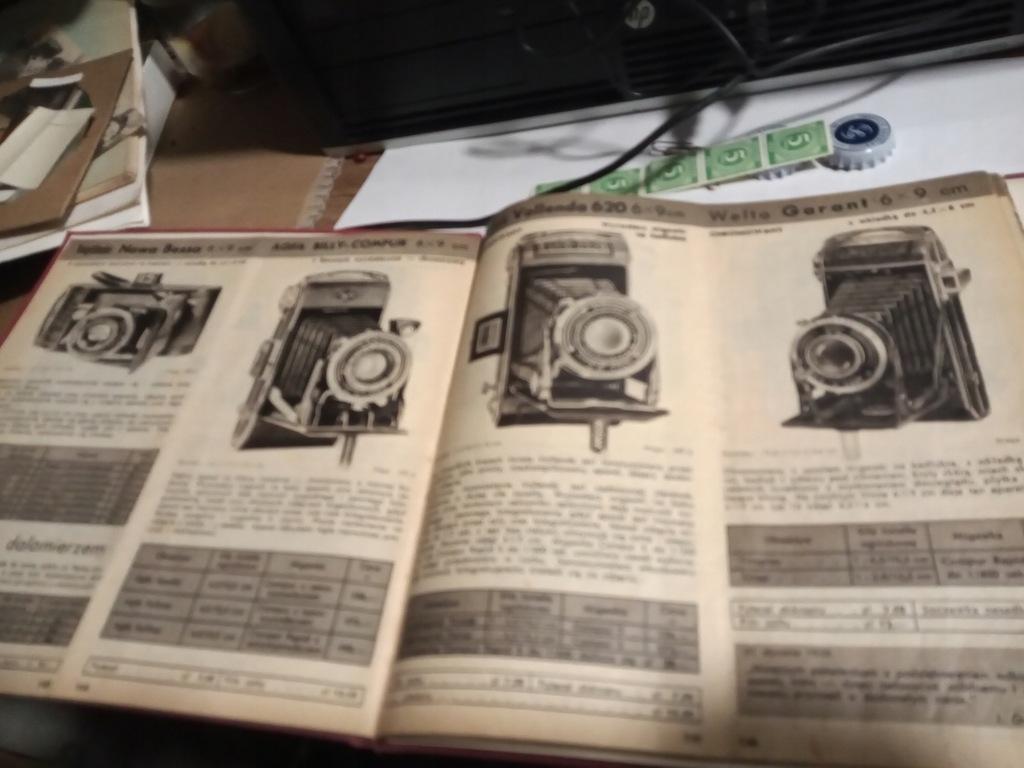 Katalog Reklama Aparat Fotograficzny KODAK 1939