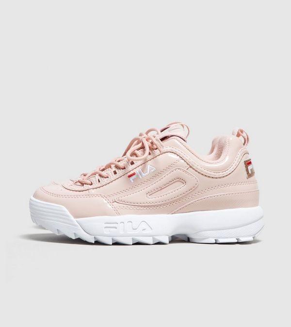 buty fila pudrowo różowe