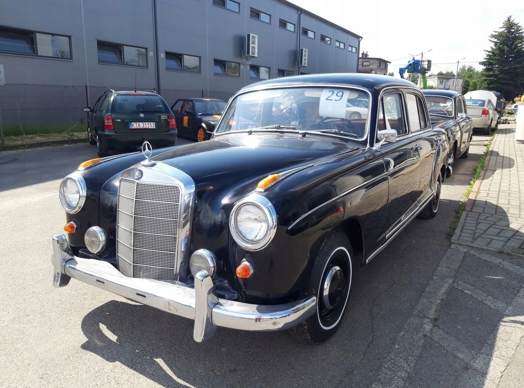 Mercedes Ponton W180 220S 1956, OKAZJA!!