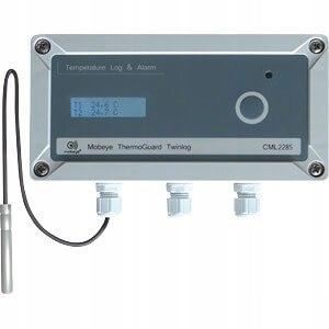 Termometr z wbudowanym modułem GSM i wyświetlaczem