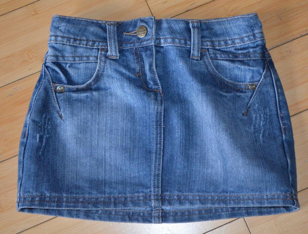 Spódnica jeansowa NEXT rozmiar 116/ 6 lat