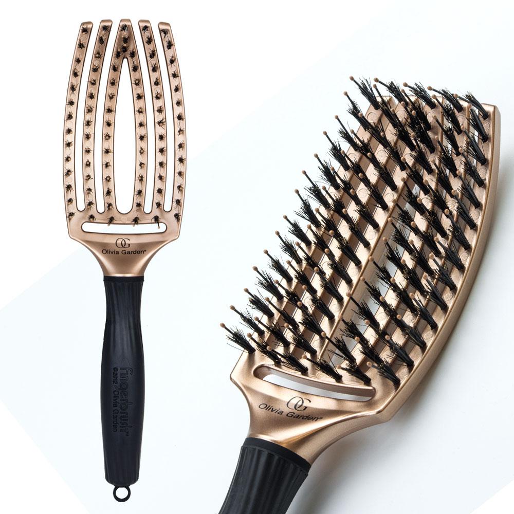 Olivia Garden Finger Brush Fb Combo Copper Medium 8762969510 Oficjalne Archiwum Allegro