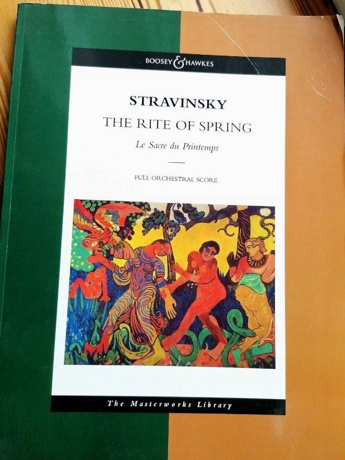 ŚWIĘTO WIOSNY STRAWIŃSKI The Rite of Spring PARTYT
