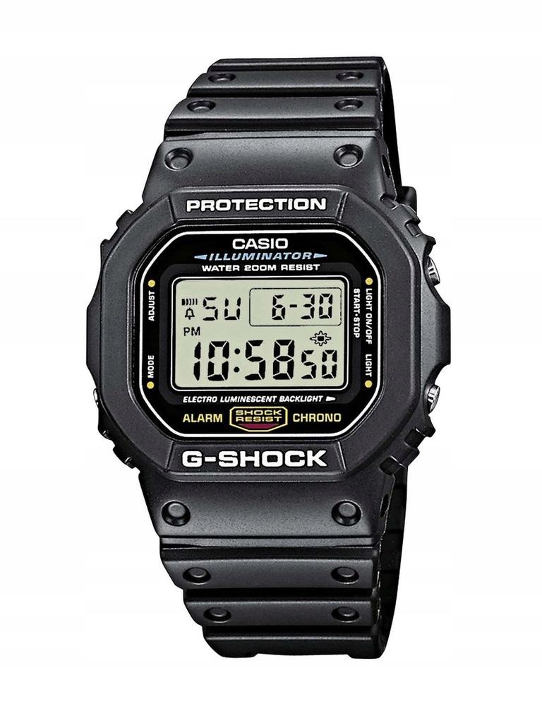 Zegarek męski CASIO DW-5600E-1VER G-SHOCK 20 ATM
