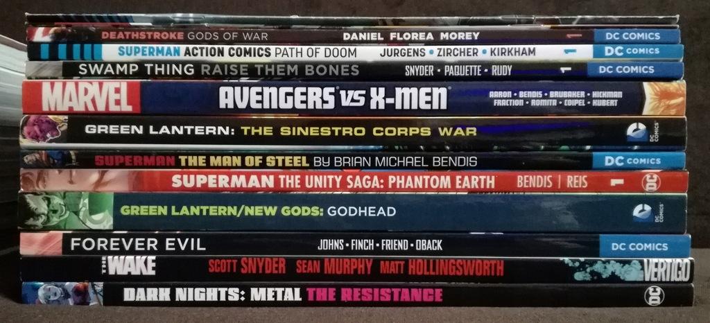 Kolekcja komiksów z USA 25 wydań zbiorczych od 1zł