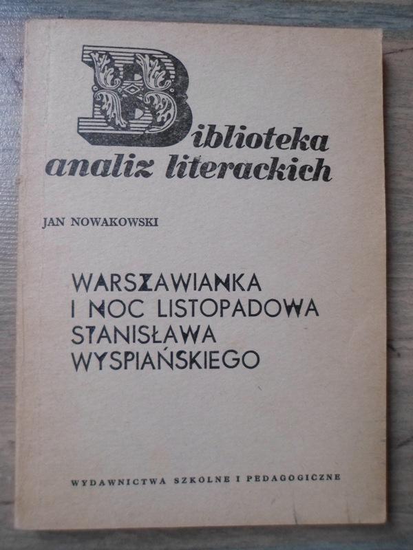 Biblioteka Analiz Warszawianka St. Wyspiańskiego