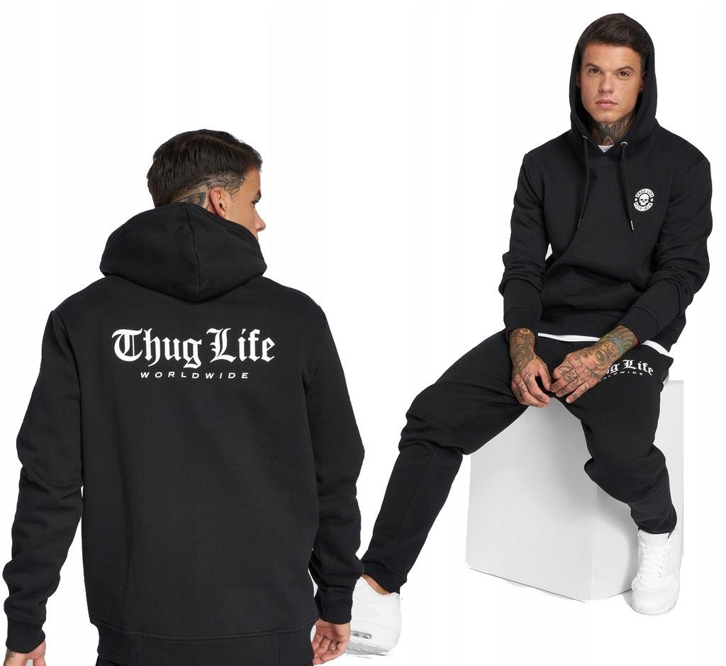 Dres XL THUG LIFE DIGITAL spodnie dresy + bluza