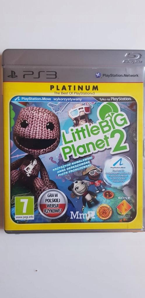 Little Big Planet 2 Platinum Gra Ps3 Pl Lektor 10031472216 Oficjalne Archiwum Allegro