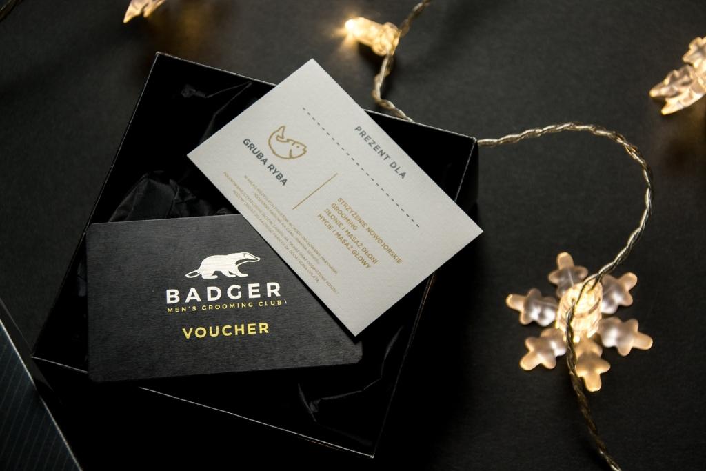 Voucher do Badger Men's Grooming Club