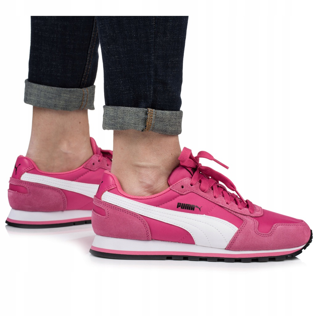 Buty damskie Puma St Runner różowe 35673833