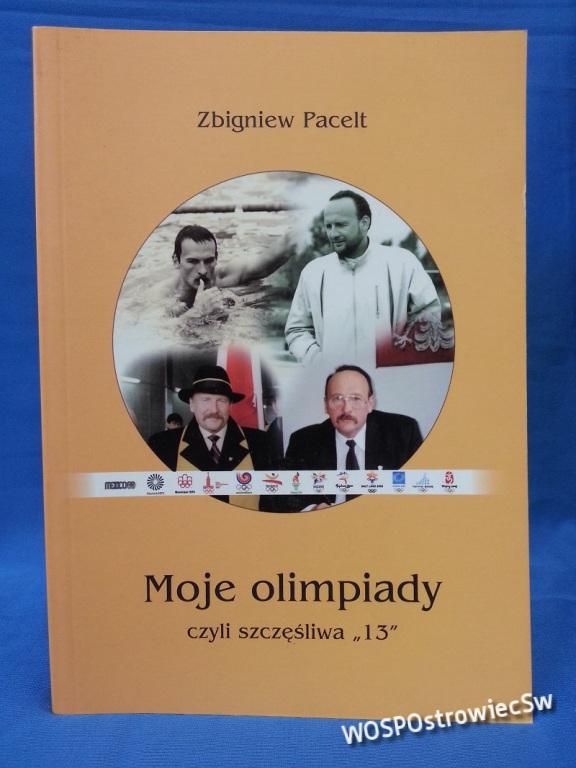 """Książka Moje Olimpiady czyli szczęśliwa """"13"""""""