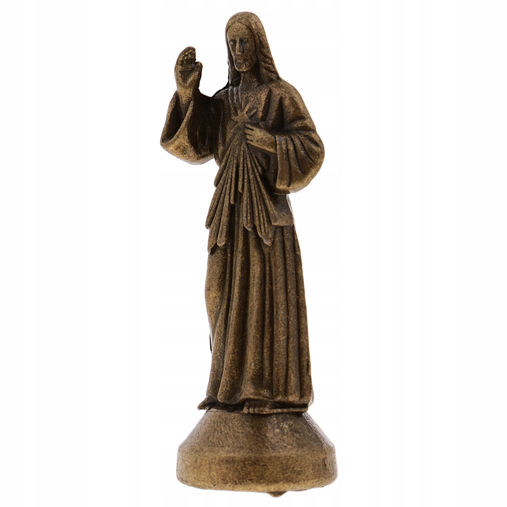 1 statua Jezusa - Brąz 5cm