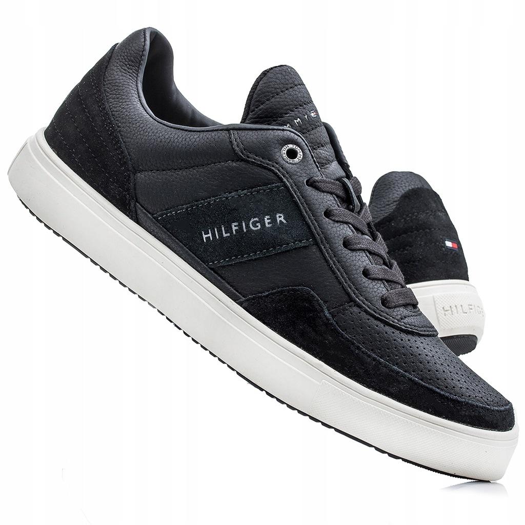 Buty, sneakersy męskie Tommy Hilfiger 01732 Granat