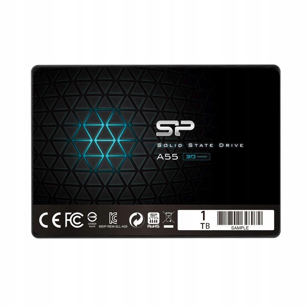 """Dysk SSD Silicon Power A55 1TB 2.5"""" SATA3 (56"""