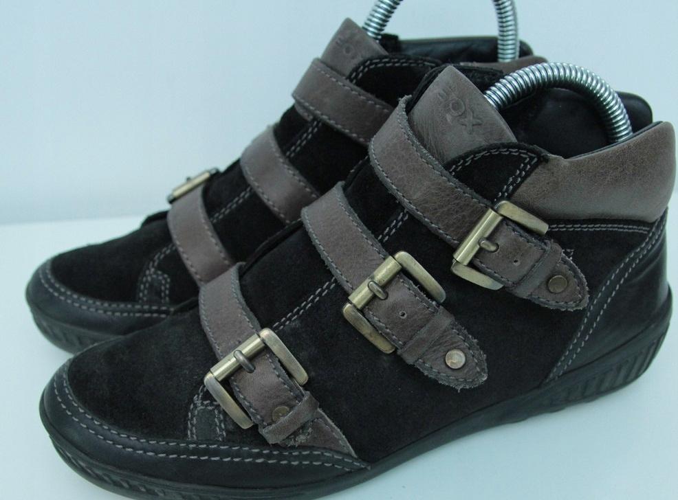 Piękne półbuty GEOX 39 25cm damskie womens boots