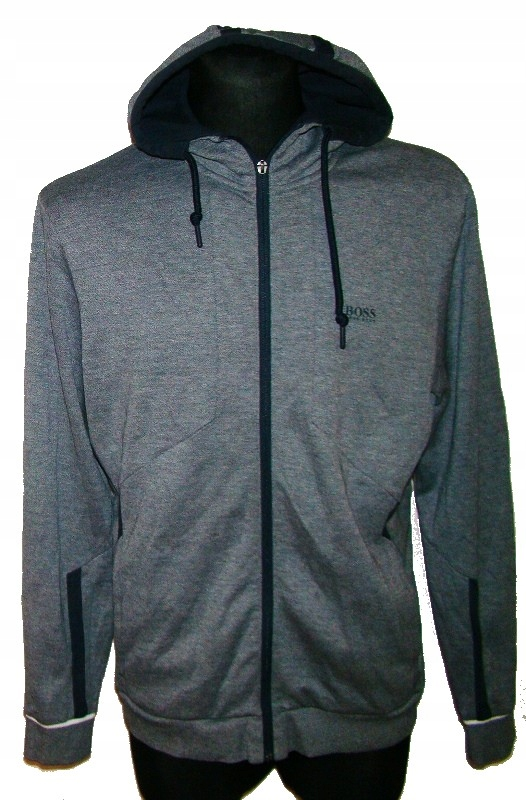 BLUZA HOODY HUGO BOSS SELNIO ORANGE HB JORDAN XL