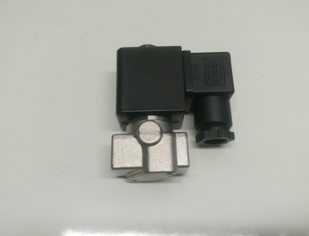 Elektrozawór Nierdzewny 1/4 12VDC, 4mm, NC 0-4bara