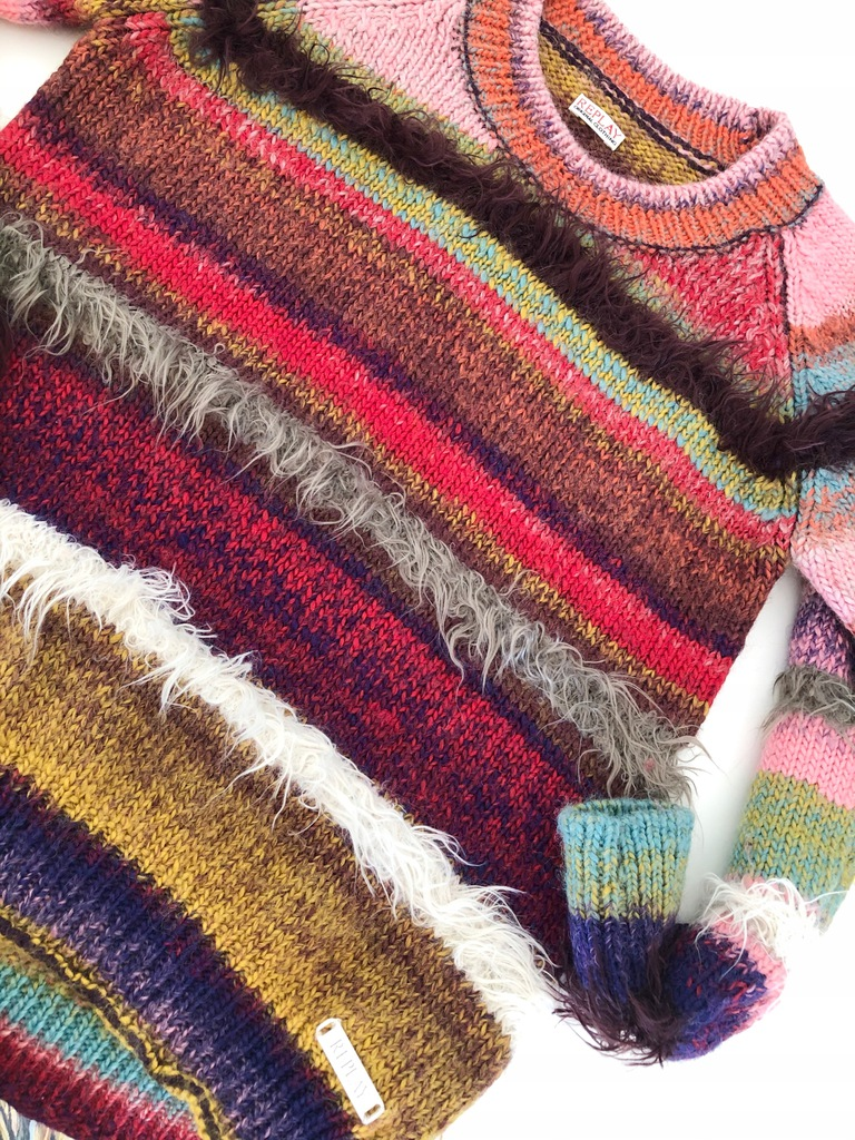 sweterek REPLAY wełna CUDO 152cm 13 14 15 / 3855