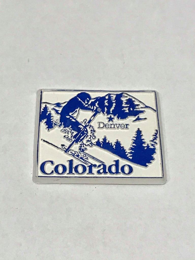 Magnes lodówkę magnez Denver Kolorado Colorado