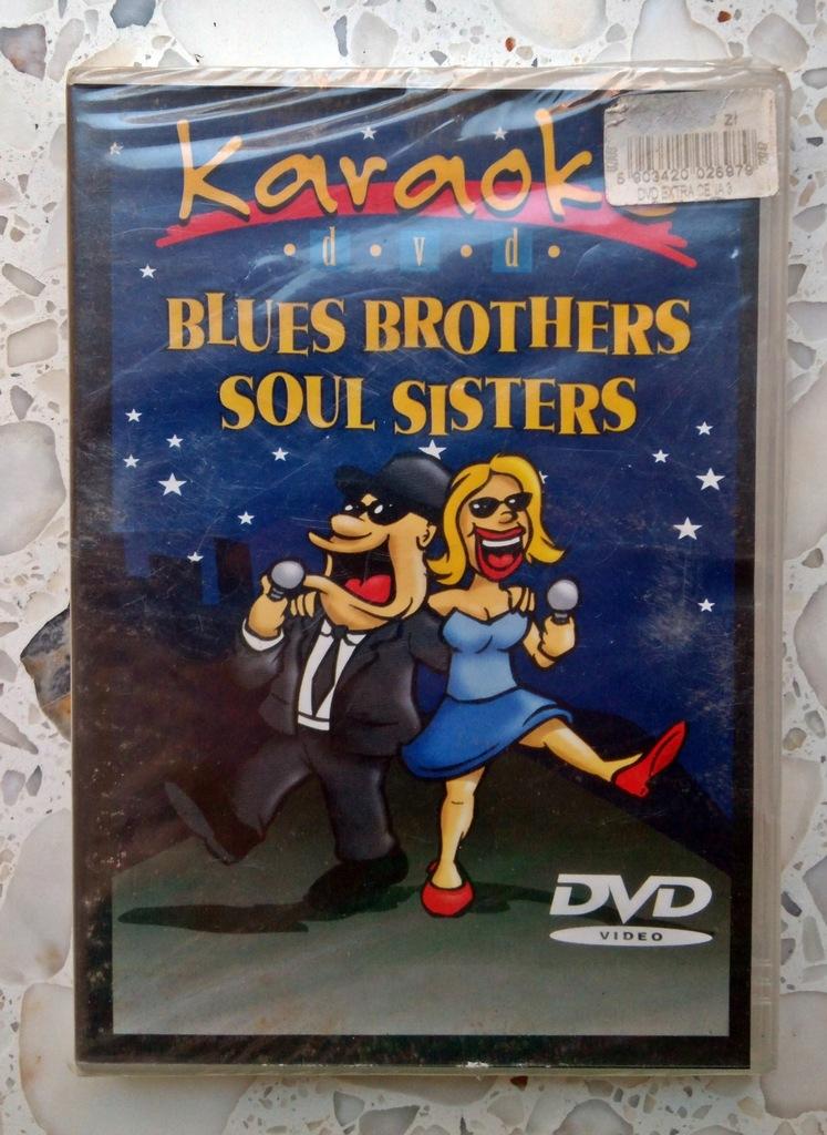 MUZYKA na DVD KARAOKE BLUES BROTHERS SOUL SISTERS