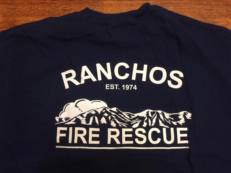 Oryginalna koszulka strażaka z USA - XL