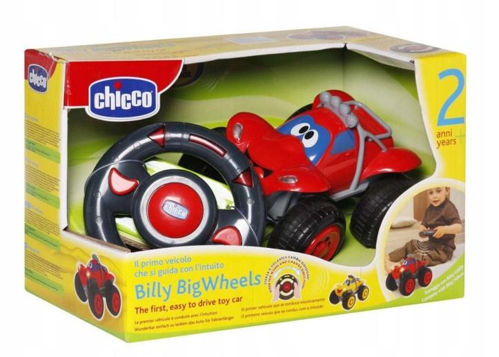 Auto zdalnie sterowane Billy, czerwone