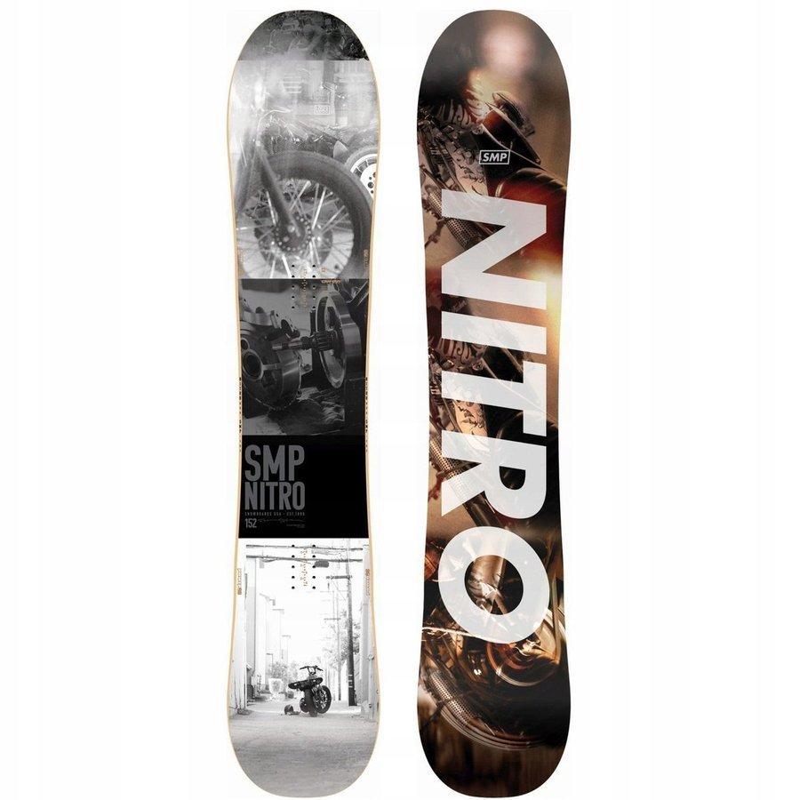 Deska snowboardowa NITRO SMP 2020 z 1800PLN 155
