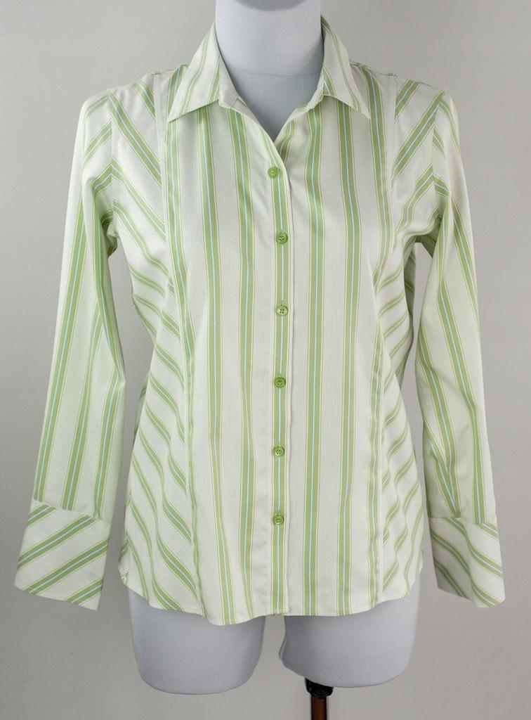 Bluzka koszulowa w paski Liz Claiborne 44/46