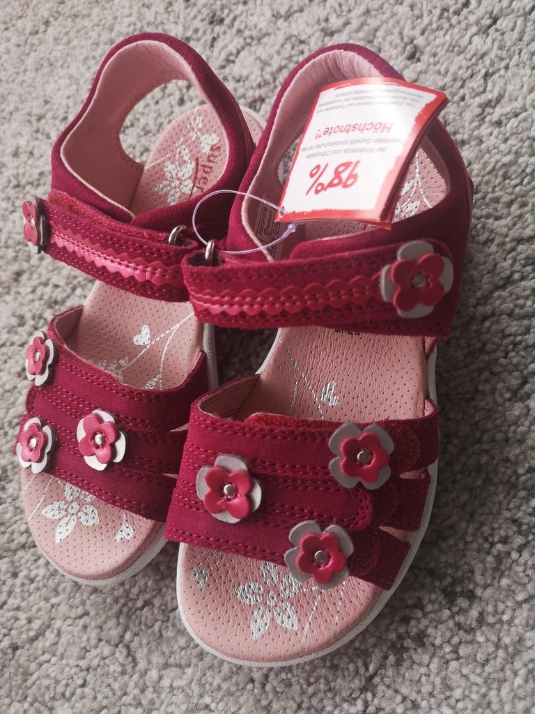 Nowe sandałki SUPERFIT R. 30