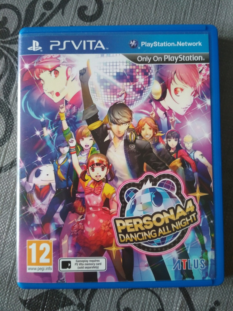 Persona 4 dancing all night PSV hit