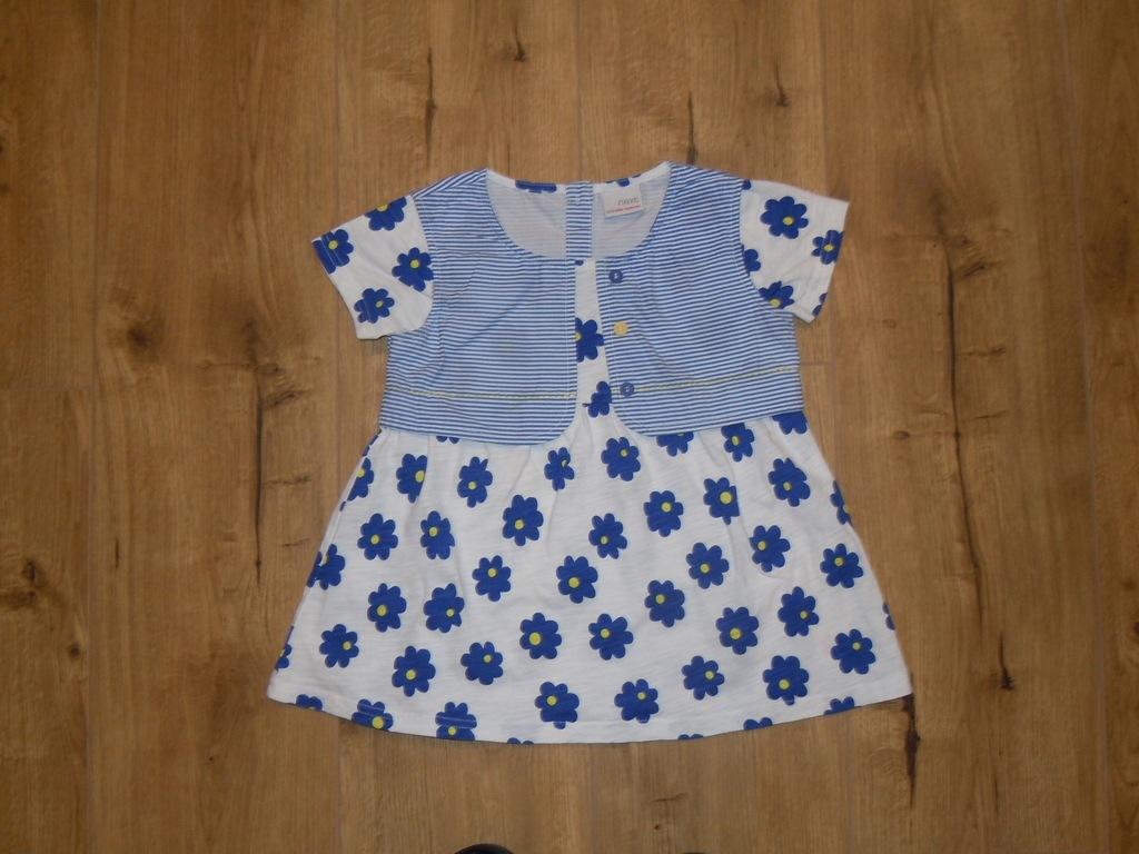 NEXT bluzeczka sukienka 110 cm BDB
