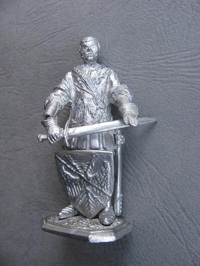 Figurka metalowa RYCERZ SZLACHCIC