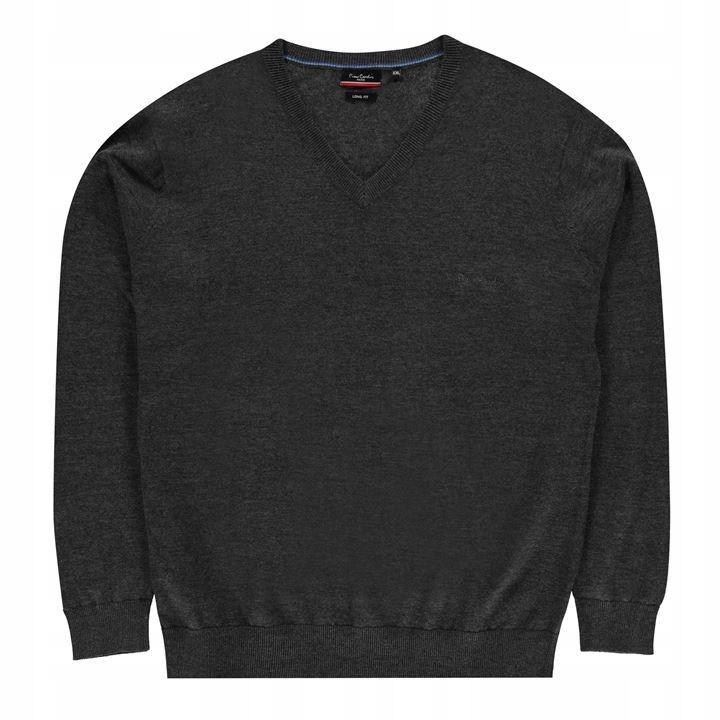 PIERRE CARDIN markowy sweter dla dużych 4XL LONG