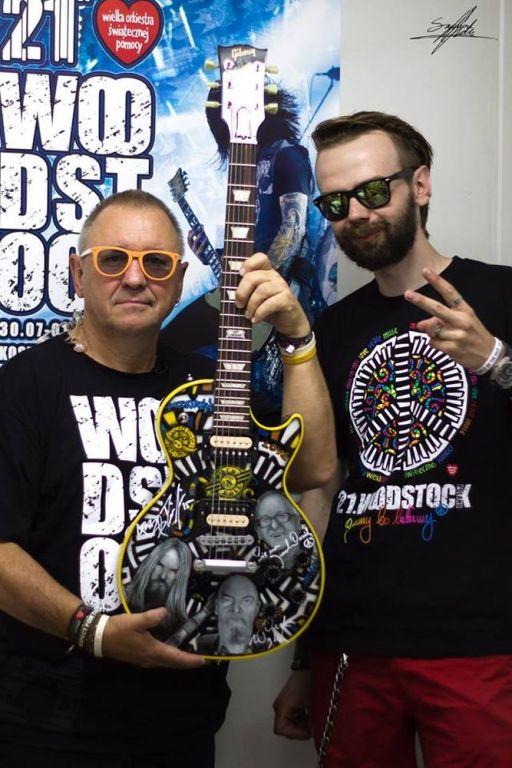 Szymon Chwalisz - Gitara Woodstockowa 2015
