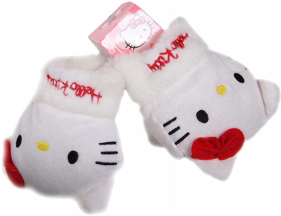 Oryginalne rękawiczki 3D dla dziewczynki. Hello Ki