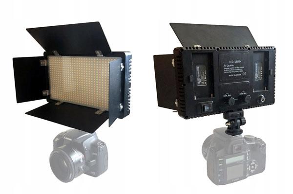 LAMPA PANELOWA DIODOWA 600 LED PRO U600+ Z WROTAMI
